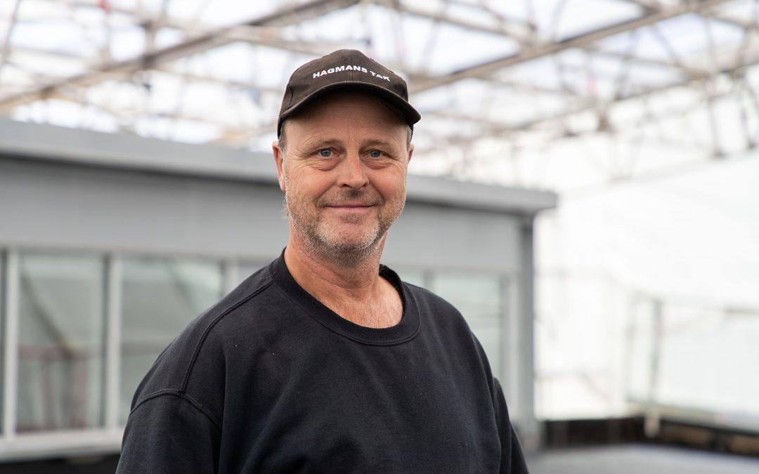 Veteranen Bengt Hellgren har arbetat på Hagmans Tak Mälardalen AB sedan företagets begynnelse år 2004