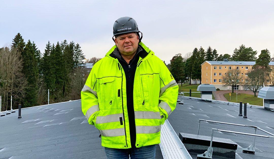 Hagmans Tak Norr AB ökar tillgängligheten med filial i Timrå