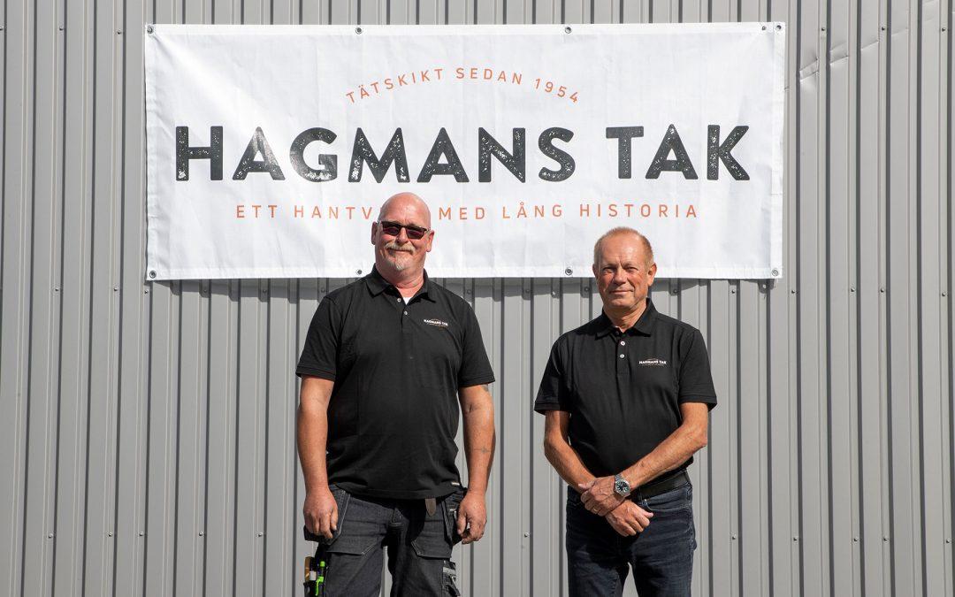 Hagmans Tak-gruppen expanderar verksamheten med nysatsning i Göteborg
