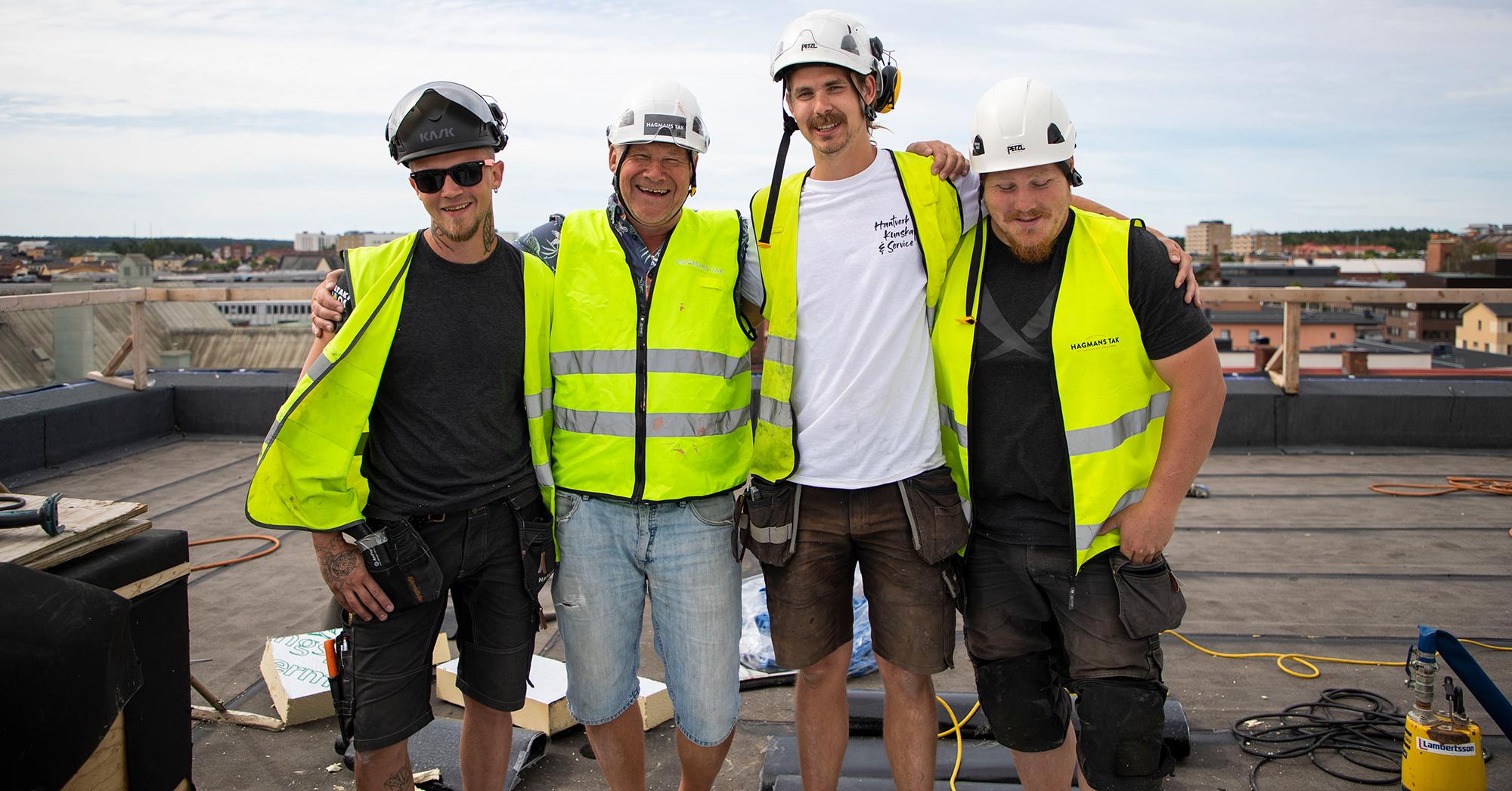 Hagmans Tak medarbetare på projekt Mälardalens högskola i Eskilstuna