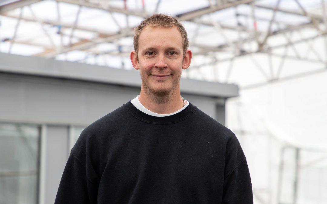 """Patrik Lindberg: """"Det bästa med arbetet som tätskiktsmontör är att kunna leverera ett lyckat slutresultat"""""""